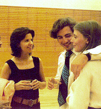 JB with Juilliard classmates Paul Fried and Renee Siebert