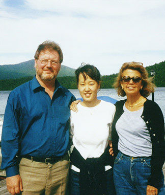 Sebastian Bell, Soo-Kyung Park, after a Lake Placid Masterclass—New York