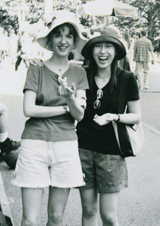 Anna Garzuly and Hyeri Yoon— students at Manhattan School of Music—NYC years